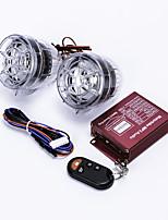 Motorcycle Anti-Theft Alarm w/ Dual Speakers - Translucent (2PCS)