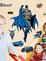 New Children's Bedroom Batman Wall Stickers Fashion Environmental Superhero Movie Wall Decals