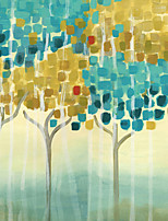 JAMMORY Trees/Leaves Wallpaper Contemporary Wall Covering,Canvas Large Mural Painting Landscapes