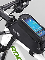 ROSWHEEL® Bike Bag 1.7LBike Frame Bag Waterproof Zipper / Moistureproof / Shockproof / Wearable Bicycle Bag PVC / Mesh / TeryleneCycle