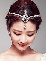 Women's / Flower Girl's Rhinestone / Alloy Headpiece-Wedding / Special Occasion Head Chain 1 Piece