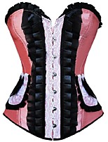 Women Stain Overbust Corset