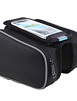ROSWHEEL® Bike Bag 1.9LBike Frame Bag Waterproof Zipper / Moistureproof / Shockproof / Wearable Bicycle Bag Polyester / PVC / Terylene