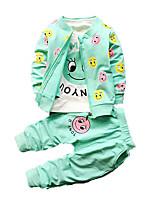 Baby Print Clothing Set,Cotton Winter-