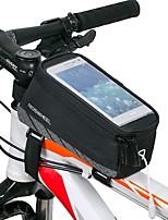 ROSWHEEL® Bike Bag 1.7LBike Frame Bag Waterproof / Waterproof Zipper / Shockproof / Wearable Bicycle Bag Mesh / Terylene Cycle Bag