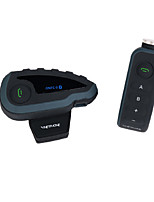 Outdoor Full Duplex Interphone V8 Support 5 People Riding Helmet Intercom Intercom Automatic Answering FM+NFS