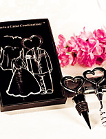 Recipient Gifts - 1 box/Set Bride Wedding Dress and Groom Tuxedo Wine Tool Set Wedding Presents, Party Favors