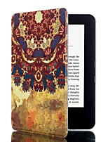 6 Inch Magnetic Buckle Pattern PU Leather Case with Sleep for Amazon kindle 2014(kindle499) (Assorted Colors)