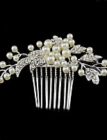 Women's Rhinestone / Crystal / Alloy / Imitation Pearl Headpiece-Wedding / Special Occasion Hair Combs 1 Piece